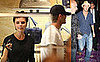 Photos of David and Victoria Beckham Shopping Before He Goes to Vegas