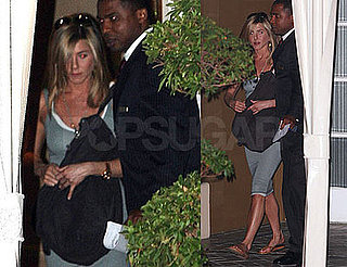 Photos of Jennifer Aniston Leaving the Four Season in LA