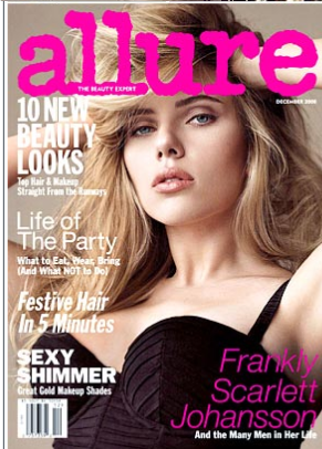 Scarlett Johansson For Allure Magazine