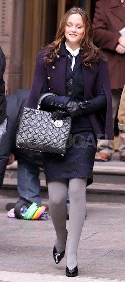 On the Gossip Girl Set
