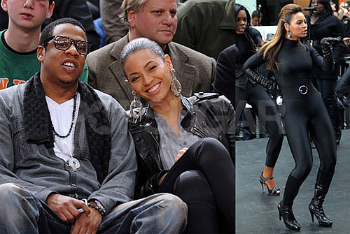Photos and Video of Beyonce Knowles on the Today Show and at Knicks Game With Jay-Z