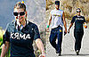 Photos of Fergie and Josh Duhamel Walking in LA With Their Dog