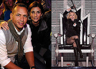 Photos of Alex Rodriguez At Madonna Concert