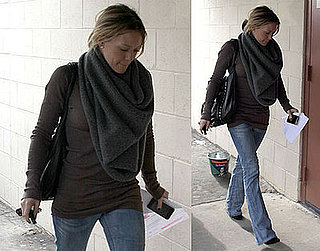 Photos of Hilary Duff Heading to a Studio in LA
