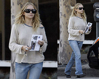 Ashley Olsen Scouts Out Stores Before Black Friday