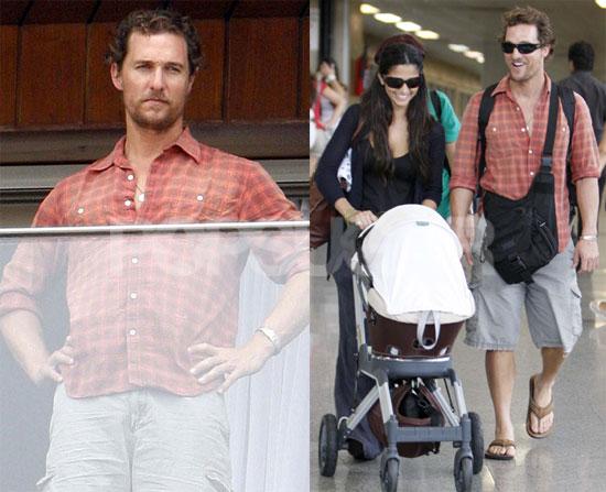 Matthew McConaughey hits Rio De Janeiro