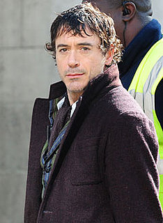 Photo of Robert Downey Jr., Who Was Injured on the Sherlock Holmes Set