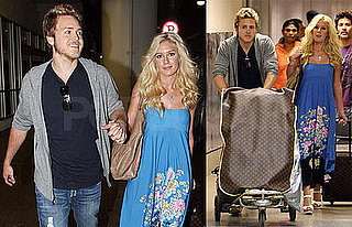 Photos of Heidi Montag and Spencer Pratt Arriving Back After Eloping
