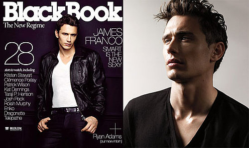 Photos and Quotes of James Franco in BlackBook Magazine