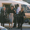 Victoria Beckham at a London Heliport