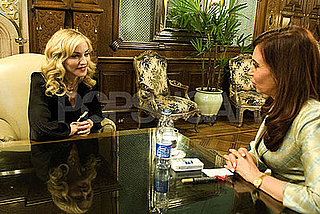 Photos of Madonna in Buenos Aires With Cristina Fernandez de Kirchner and Ingrid Betancourt