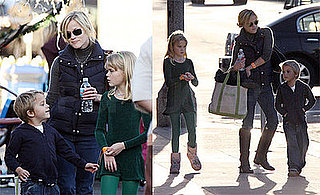 Photos of Reese Witherspoon Ice Skating With Ava and Deacon