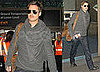 Photos of Brad Pitt at LAX 2008-12-10 12:30:52