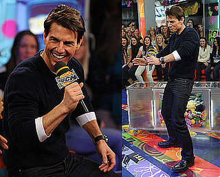 Tom Cruise Brings His Moves, But Not His Religion to Canada