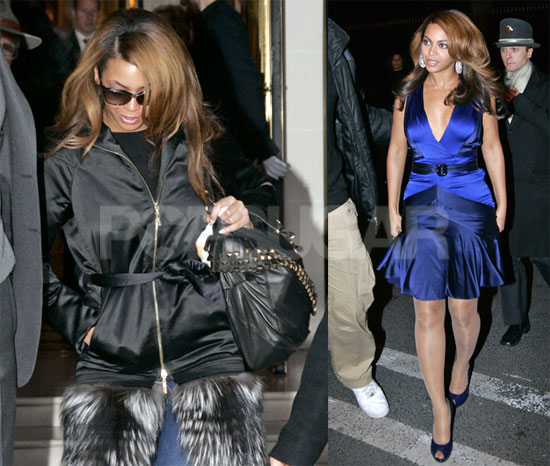 Beyonce Leaves Paris