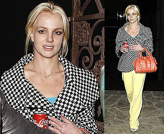 Photos of Britney Spears at the Dance Studio