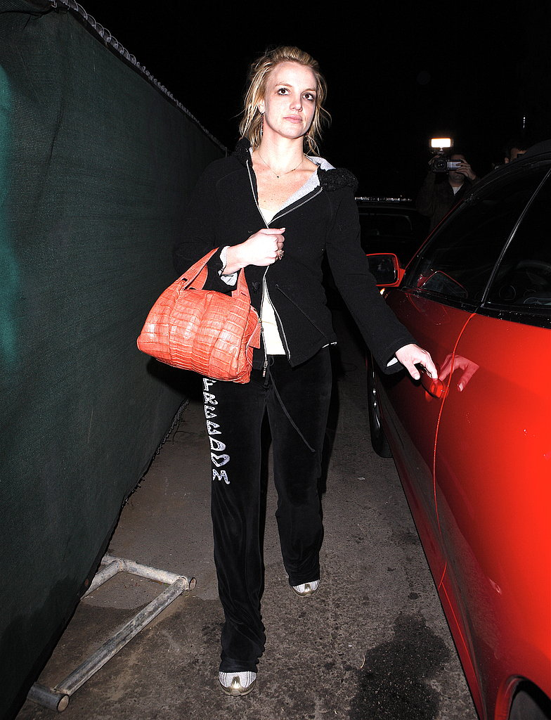 Britney Out in LA in Sweats