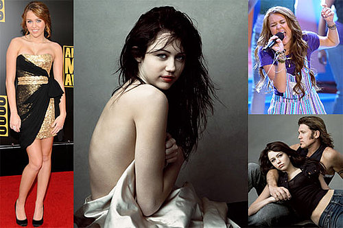 Biggest Headlines of 2008: Miley Cyrus's VF Scandal