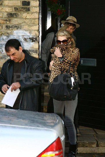 Kate Moss in London
