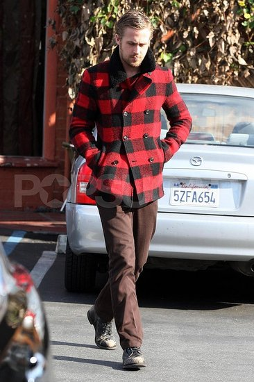 Gosling Out in Red