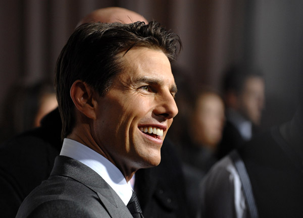 Tom Cruise at Valkyrie