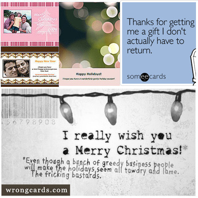 Send Forgotten Christmas Cards Online