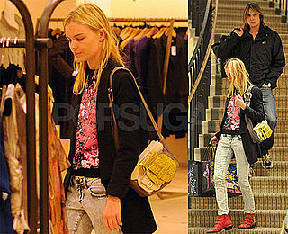Kate Bosworth Does Some Throwback Shopping