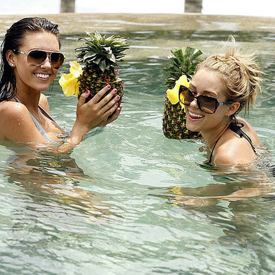 Lauren Conrad and Audrina Patridge headed to Cabo to celebrate Brody Jenner's birthday in August 2008.