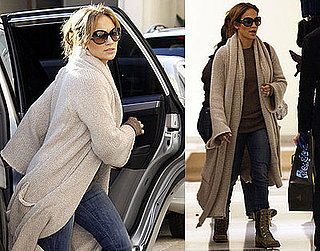 Photos of Jennifer Lopez at Barneys and Saks Fifth Avenue