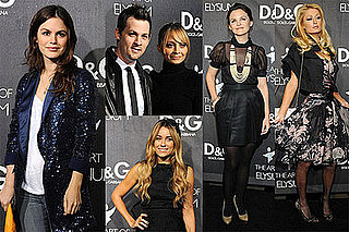 Nicole, Paris, Some Maddens, Conrad, & Bilson Celebrate D&G