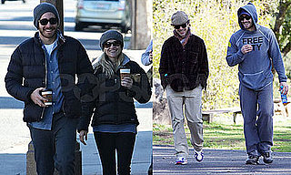 Photos of Reese Witherspoon and Jake Gyllenhaal in Ojai with Robert Downey Jr