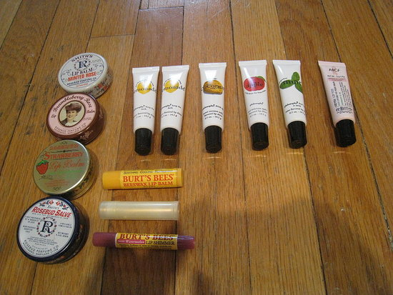 Lip balms &amp; shines.