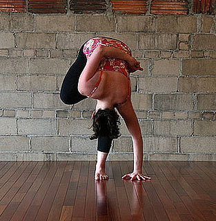 Strike a Yoga Pose: Standing Half Bound Lotus Forward Bend