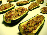Creamy Zucchini Boats