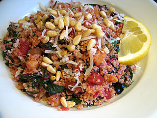 Healthy Recipe: Couscous With Chard and Roasted Chickpeas