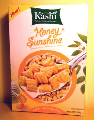 Food Review: Kashi Honey Sunshine