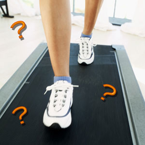 How Fast Am I Moving on the Treadmill?