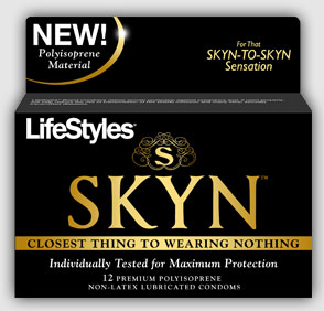 "Lifestyles Skyn Condoms: ""Closest Thing to Wearing Nothing"""
