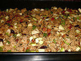 Cranberry-Pear Wild Rice Stuffing