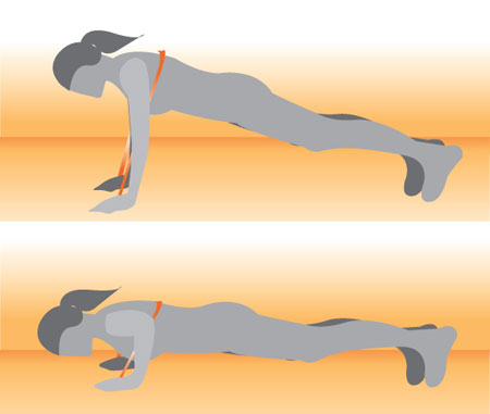 Get Lifted: Push-Up With Resistance Band