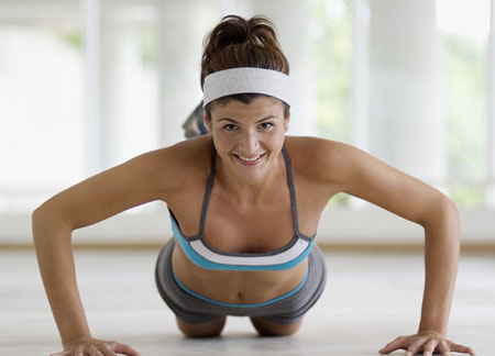 Fit Tip: Feeling Chilly? Do Some Push-Ups