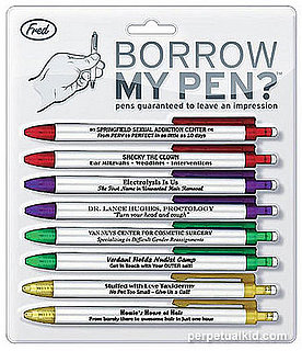 Product of the Day: Pens You'll Want to Return to Owner