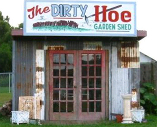 Dirty Hoes Don't Sell Themselves!