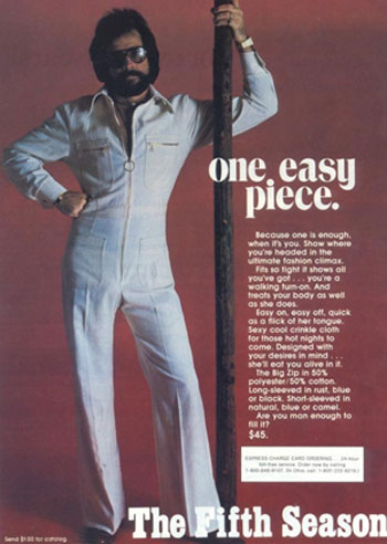 Flashback: '70s Men's Jumpsuit