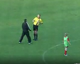 Drunk Referee at Children's Soccer Match