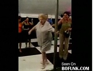 Pole-Dancing Grandma