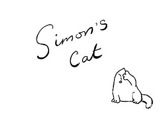 Simon's Cat Wants In