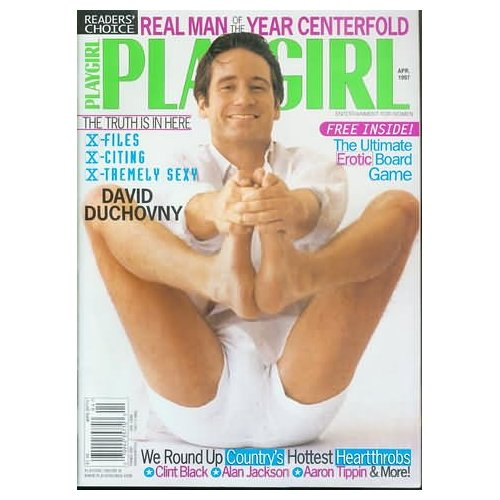 The Real Man of the Year Centerfold