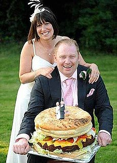 Dream Wedding Cake: A 42-Pound Cheeseburger