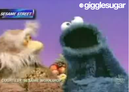 Cookie Monster on The Colbert Report
